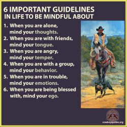 6 Important Guidelines in Life